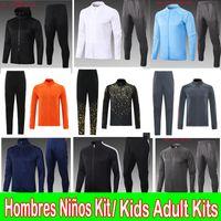 2020 2021 Real Madrid Tracksuit Hoodies Jacket 20 21 Sergio Ramos Benzema ISCO VINICIUS JR Survitement Tracksuit Men + Kits Kits Treinamento Terno