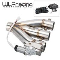 """WLR 3in1 2.5 """"/ 3.0"""" Двойной клапан электрический вырезанный клапан вырезанный клапан выхлопной трубы Глушитель набор с беспроводным пультом дистанционного управления 3 Outlet1"""