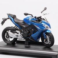 1:18 Ölçekli Mini Welly Suzuki GSX-S1000F Motosiklet Modeli Diecasts Oyuncak Araçlar Moto Koleksiyonu Bisiklet Hatıra Çocuk Z1202