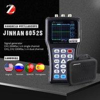 PANTALLA POR PANTALLA DIGITAL Osciloscope JDS6031 JDS6052S Generador de señales 2CH 50M 200msA / S Rusia Portugués 5 idiomas
