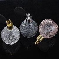 Sıcak satış vintage 100 ml boş parfüm şişeleri kalın cam hava kesesi sprey şişeleri moda parfüm difüzör şişeleri