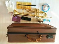Brand New Stradivarius Professionelle BB Trompete LT180-43 Goldlack InstrumentOs Musicales Professionales Mundstück Kostenloser Versand