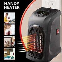400W портативная настенная стена электрический мини вентилятор нагревателя портативного оборудования бытовой отопительной плиты теплее для домашнего офиса