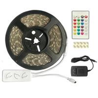 스마트 라이트 LED 스트립 5M 울트라 밝은 RGB SMD 5050 유연한 스트립 12V 12mm30LED