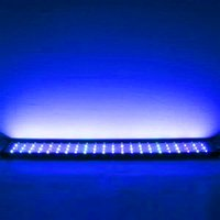 Nieuw ontwerp 18W 66LED Full Spectrum Sea Coral Lamp Light 35.43 inch Zwarte Langdurige helderheid (geschikt voor 35.43-43.3 inch Long Aquarium)