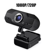 Hot A1000 HD Webcam Built-in Dual Mics Smart 1080P 720P Web Camera USB Pro Stream Camera for Desktop PC Game Cam OS Windows
