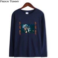 LIL UZI VERT Uzun Kollu T-shirt Yeni Varış Moda Serin Popüler Kpop Tarzı Kadınlar / Erkekler Rahat Sonbahar Artı Boyutu