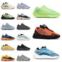 adidas yeezy boost 380 700 V3 디자이너 실행 신발 Kanye 700 러너 솔리드 그레이 망 여자 오렌지 아자 렛 트리플 블랙 인광 자석 야외 트레이너 운동화