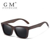 GM Mode Retro Modalità Bamboo Legno Polarizzato Driving Style Style Occhiali da sole Goggle Maschio Goggle UV400 Donne Donne Designer