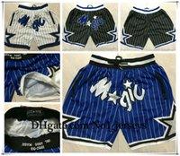 NCAA OrlandoMagic HardAway 33 Hill 5 BambaПросто дон сшитые ретро дышащие карманные штаны штаны спортивные штаны классические баскетбольные шорты
