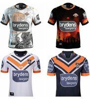 YENİ YENİ 18 2019 2020 2021 Batı Tiger Rugby Formalar Eve Uzakta Rugby League Jersey 19 20 21 Shirts S-3XL