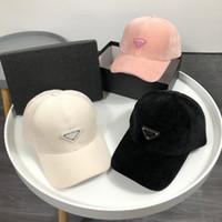 Gorra de bola de diseño de alta calidad con caja 2021 hombres mujeres moda lana ajustable snapback sombreros unisex al aire libre deporte golf béisbol casual casual