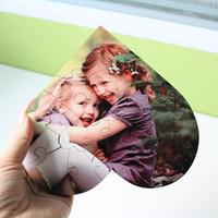 Boş Kalp Şeklinde Bulmacalar 75 adet Süblimasyon Boş Inci Yapboz DIY Bulmaca Düğün Doğum Günü Sevgililer Günü Parti Favor Hediye FY4399