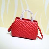 2020 Luxurys дизайнеры сумка новое высококачественное качество искусственная кожа женская сумка роскоши Desi Gnerns сумка плеча через 26 * 20 * 13см