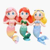 Hohe Qualität Sommer Cartoon Sea Tochter Meerjungfrau Plüsch Spielzeug Tier Gefüllte Spielzeug Kinder Spielzeug Mädchen Begleiten Schlafende Geschenke