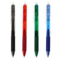 0.5mm magische löschbare Taste Slide Press Gel Pen rot blau schwarz grün Tintenbüro Schul Schreibwaren student schreiben Werkzeug x3ue