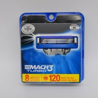 MACH3 Turbo Erkek Jilet Bıçakları Paketi 8 Dolumlar Erkek Jilet Bıçak Dolumlar Tıraş Bıçağı