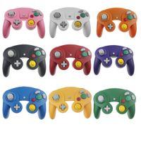 Kablolu Oyun Denetleyicisi NCC Nintendo GC Oyun Küp Gamepad Joystick Denetleyicileri Platin Mix Renkler stokta Hızlı