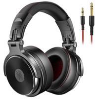 Oneodio Kablolu Kulaklık Profesyonel Studio Pro DJ Kulaklıklar Mic ile Çift-Görevli Kablo HIFI Monitör Müzik Kulaklık Telefon PC1 için