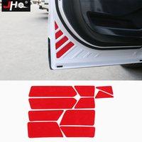 JHO 문 반사 개방형 안전 경고 스티커 Ford Explorer 2011-2019 17 17 지프 그랜드 체로키 2011-2020 자동차 액세서리