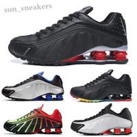 SHOX R4 301 2019 a buon mercato Mens 802 803 Avenue NZ Top Quality Men R4 Designer Sneakers Chaussures Hombre Man Stugini da donna TN Size 36-46 RG06