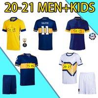 2020 2021 Top Quality Boca Juniors Juniors Soccer Jerseys Tevez Maradona de Rossi Fans Carlitos Gago Camiseta de fútbol Osvaldo Third Shorts