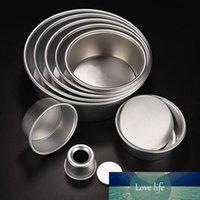 2/4/6/8 인치 케이크 금형 알루미늄 합금 다이 라운드 케이크 템플릿 베이킹 접시 베이킹 금형 팬 패턴 Bakeware 주방 도구 코카나