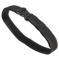 Apoio à cintura Belt de nylon do utilitário de engrenagem de combate (preto) 1