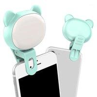 Flash Têtes 32 Perles de lampe 3 Engrenages Dimaming LED Selfie Lieu de téléphone mobile Lieu portable Bague lumineuse Clip Light Profissional1