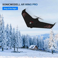Anfänger Electric SonicModell AR WING PRO RC Airplane DRONE WINDSPAN EPP FPV Fliegenflügel Modellgebäude Kit / PNP-Version LJ201210