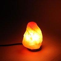 Premium Kwaliteit Himalaya Ionische Crystal Salt Rock Lamp met Dimmer Kabel Switch UK Socket 1-2KG - Natural Night Lights Groothandel