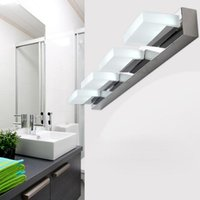 Dimmable 9W 12W 15W LED SMD 5730 Wall Sconces Lamp Fixture Adjustable Mirror Front Light Shower Room Bedroom