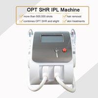 Due maniglie Elight Laser Depilazione della pelle ringiovanimento della pelle rimozione vascolare Opt SHR SHR Super Depilazione