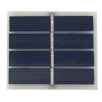 Panel de epoxi solar Polycrystalline Silicon de alta calidad Cargador solar de alta calidad Panel solar policristalino Panel fotovoltaico 56mm * 50mm