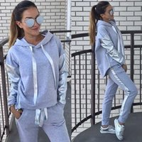 Moda vem 2020 novo design moda quente venda terno conjunto mulheres tracksuit duas peças estilo roupa camisola desgaste esporte