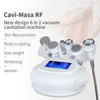 피부 젊 어 짐에 대 한 최신 RF 초음파 80K Cavitation 바디 슬리밍 기계 피부 회춘에 대 한 뷰티 살롱 스파 장비