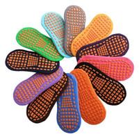 Çorap Trambolin Çorap Noktası Tutkal kaymaz Zemin Çorap Pamuk Çocuk Erken Eğitim Çocuklar Yetişkin Ev Yoga Çorap