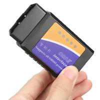 ELM327 WIFI V1.5 OBD2 OBDII Lector de códigos ELM 327 Herramienta de escáner de diagnóstico automático Elm-327 inalámbrico para Android iOS Teléfono