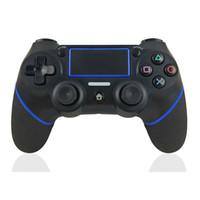 PS4 컨트롤러를위한 블루투스 무선 조이스틱 게임 패드 듀얼 쇼크 PS4 4 조이스틱 게임 컨트롤러 콘솔 Y1209