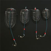 Cebo cebo jaula señuelos fabricante de nidos de acero inoxidable cestas de metal de mujer mujer hombre hombre señuelos equipo de equipo de pesca 2rx K2