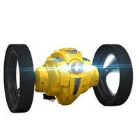 RC Bout Car Toys 805 Jumping 805A с WiFi FPV камера трюк автомобиль гибкие колеса вращение светодиодный ночной свет RC робот автомобиль Y200413