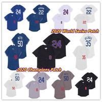 남성 2020 LAD WORLS 시리즈 WS 챔피언스 MOOKIE BETTS 로스 앤젤레스 저지 코디 벨지지 클레이튼 KERSHAW 8 24 Bryant Baseball Mamba 유니폼