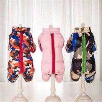 Vêtements de chien Épais d'hiver Épais Snowsuit chaud pour petits chiens imperméables chiot Pet Jacket manteau Chihuahua Pug Combinaisons Vêtements1