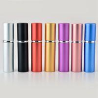 5 мл парфюмерных бутылок атомабийлятор амортизатор стекло с ароматом для аромата наглядные погребенные косметические распылительные бутылки Party HAZ2970