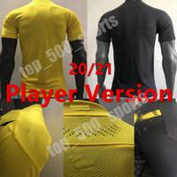 Spelare Version 20 21 Fotboll Jersey Haaland 2020 2021 Fotboll Tight Compression Shirts Spelare Sancho Reus Hummels Brandt
