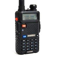 Оригинальный Baofeng UV-5R Двойной Bandtransceiver UV5R Двухсторонний радио Walkie Talkiea BF-UV5R с бесплатной гарнитурой Быстрая отгрузка