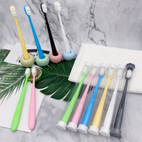 Ультратонкие супер мягкие зубные щетки портативные экологически чистые путешествия Открытый Используйте уход за зубами кисть оральный уборщик уставных уходов