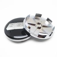 4 قطع 68 ملليمتر ل bbs عجلة مركز محور غطاء قبعات سيارة شعار شارة التصميم اكسسوارات