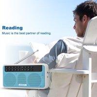 Rolton E500 6W DIGITAL FM Radio Inalámbrico Bluetooth Speaker AM Receptor Grabación HIFI STEREO FM Radio TF USB Reproductor de música para PC1