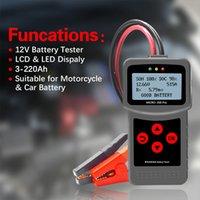 Auto-Batterie-Tester 12V 24V Multi-Language Digital AGM EFB Gel Automotive Load Batterien System Analyzer für Autos Moto Micro-200 Pro